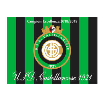 bandiera celebrativa (1,40 x 1 m) vittoria campionato d'Eccellenza 2018-19
