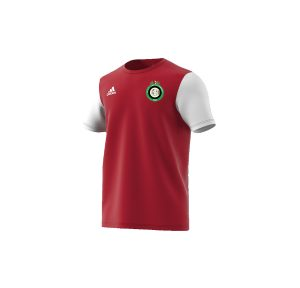T-SHIRT ROSSA ADIDAS Castellanzese Calcio serie D